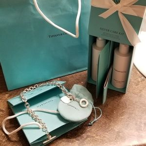 TIFFANY & CO. AUTHENTIC HEART TAG TOGGLE NECKLACE
